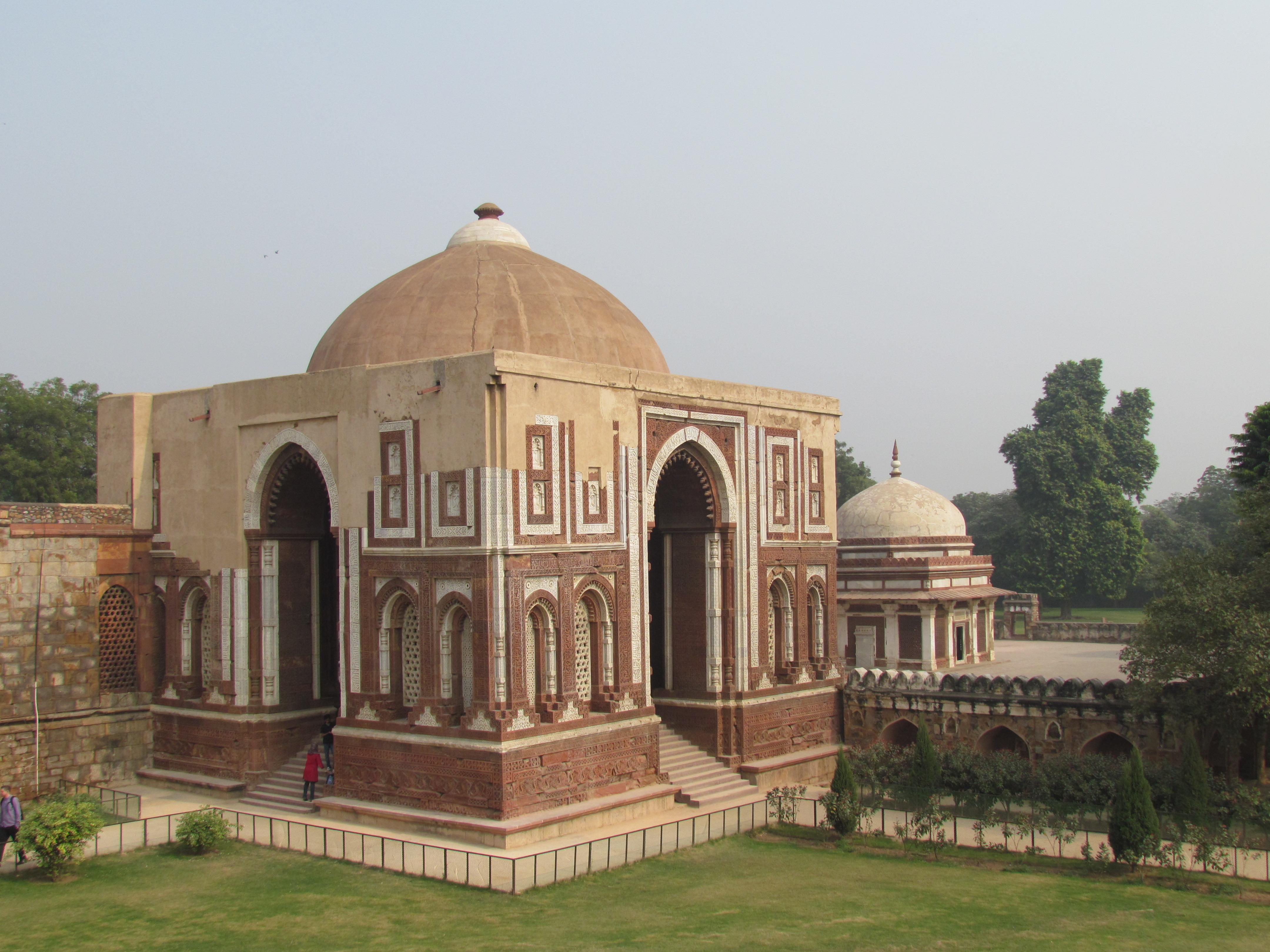 Image result for Alai Darwaza qutub minar