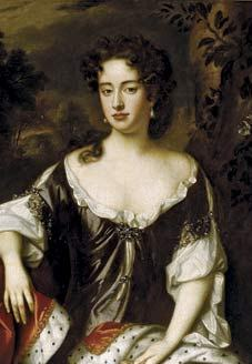 English: Anne, later Queen of England &c. At t...
