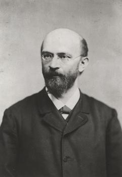 Anton Menger, circa 1890, photographed by [[Josef Löwy