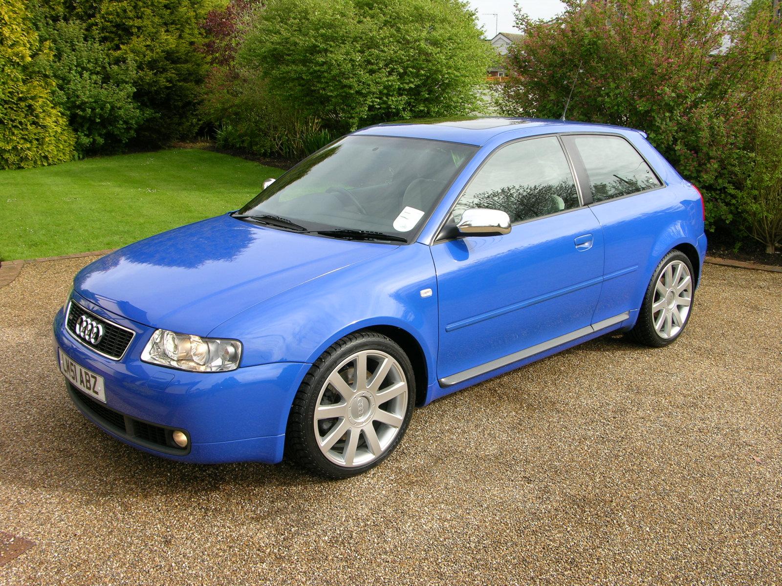 File Audi S3 Nogaro Blue 2001 Flickr The Car Spy 12