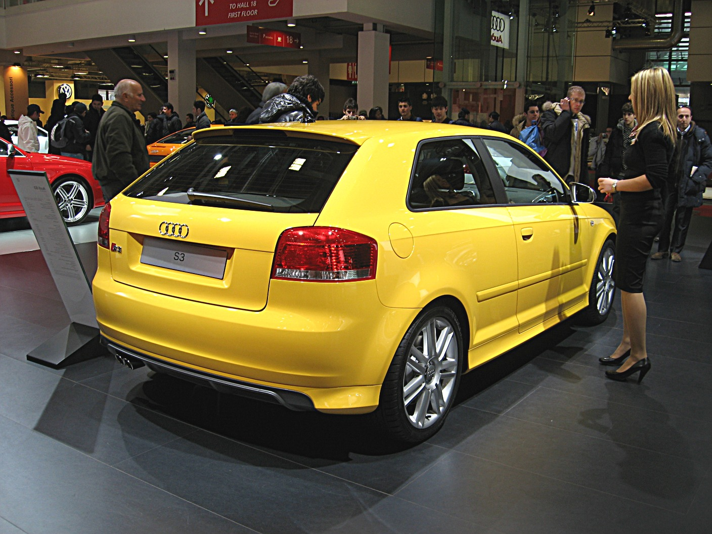 file audi s3 rear view jpg wikimedia commons. Black Bedroom Furniture Sets. Home Design Ideas