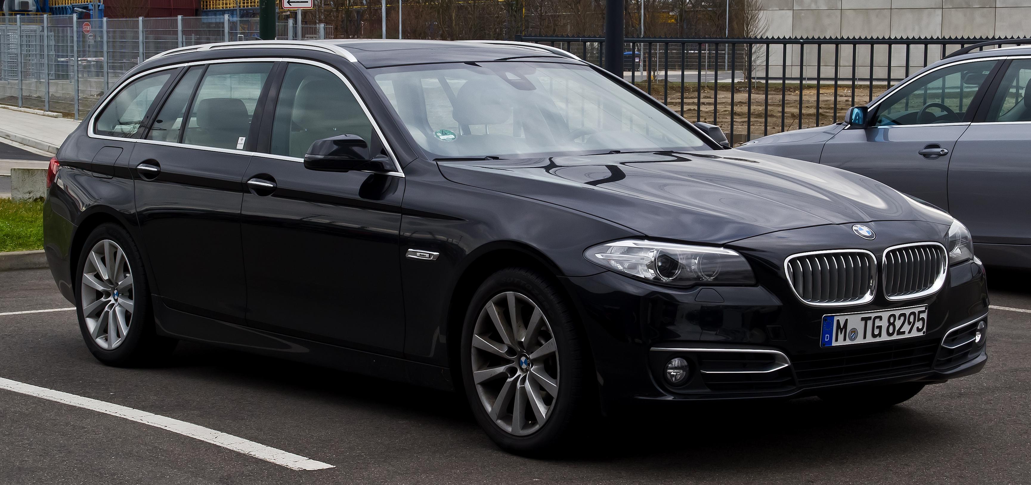 File:BMW 520i Touring Modern Line (F11, Facelift) – Frontansicht, 22
