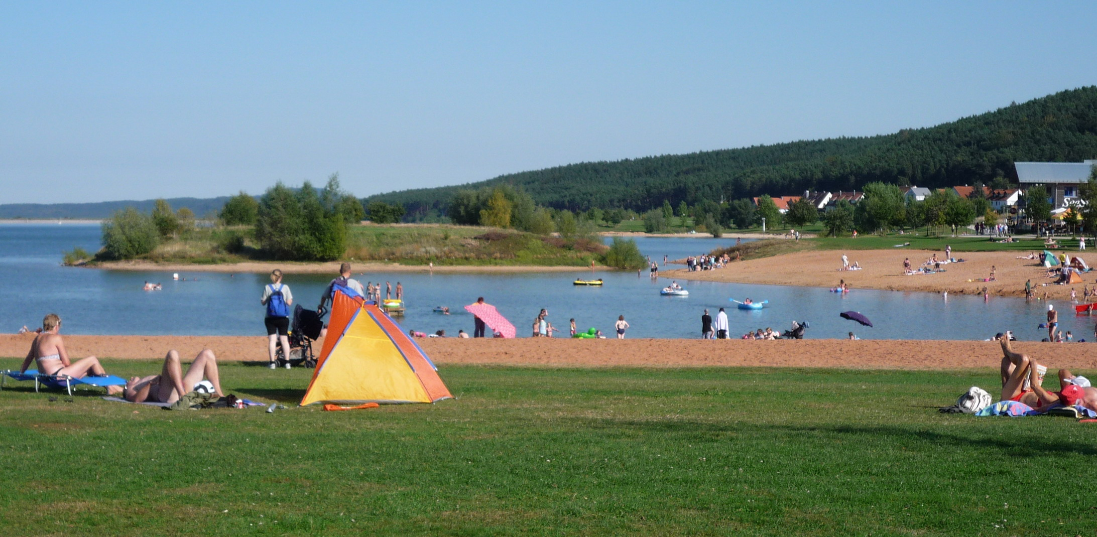 camping am brombachsee