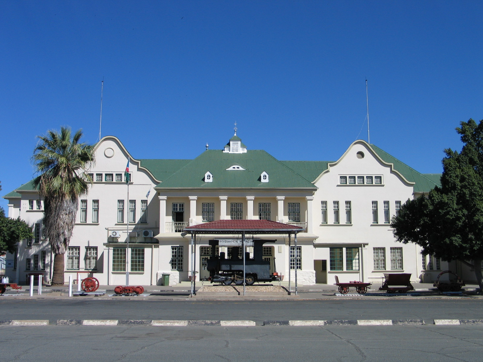 Hist. Bahnhof / Hist. Train Station - Attractions/Entertainment - Bahnhof St, Windhoek, Khomas, Namibia