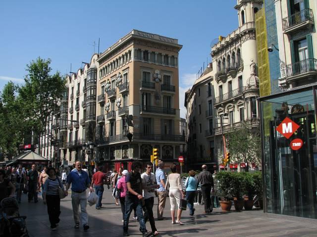 Barcelona-La Rambla el Raval