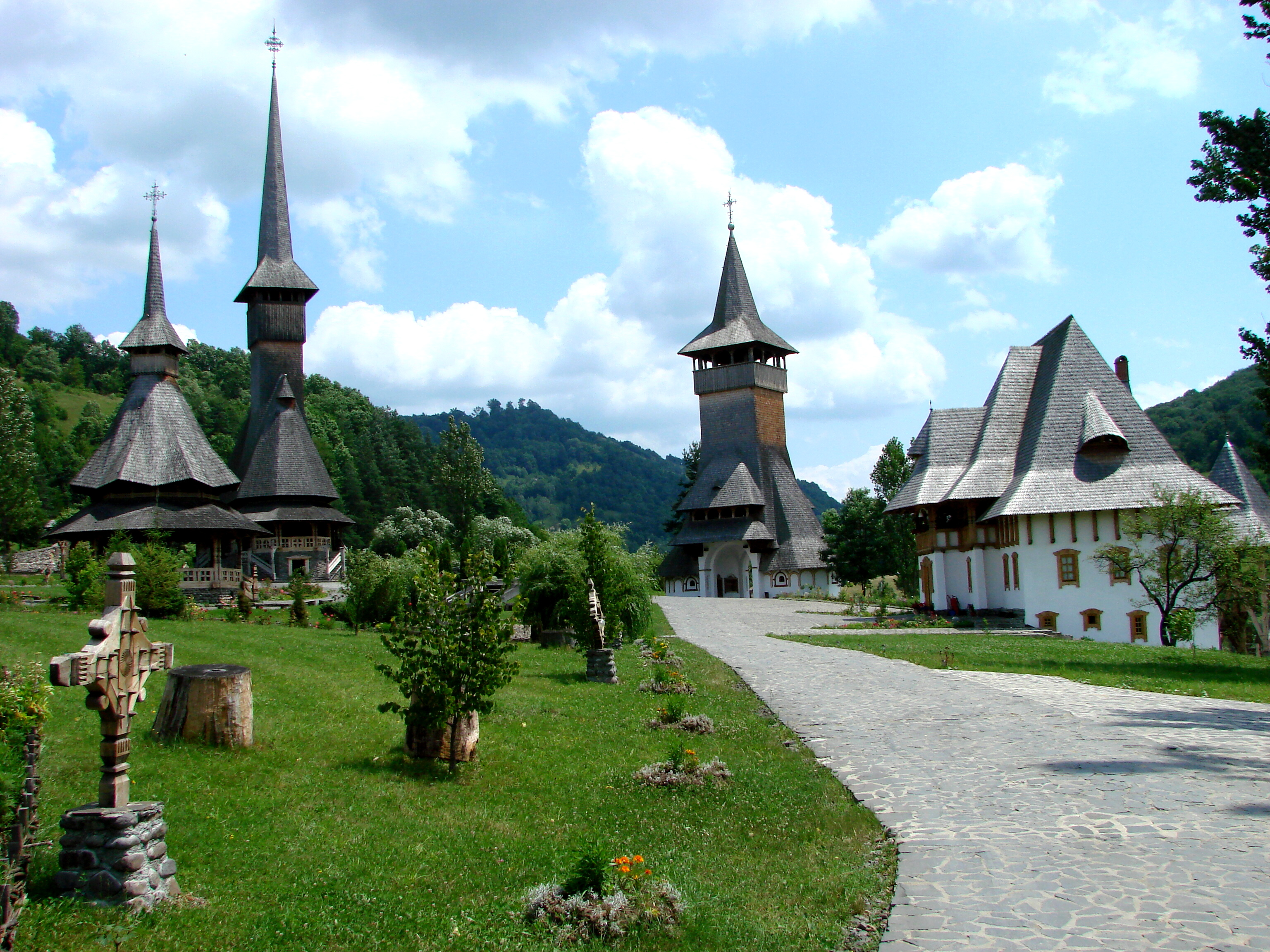 Image result for monastery of barsana romania