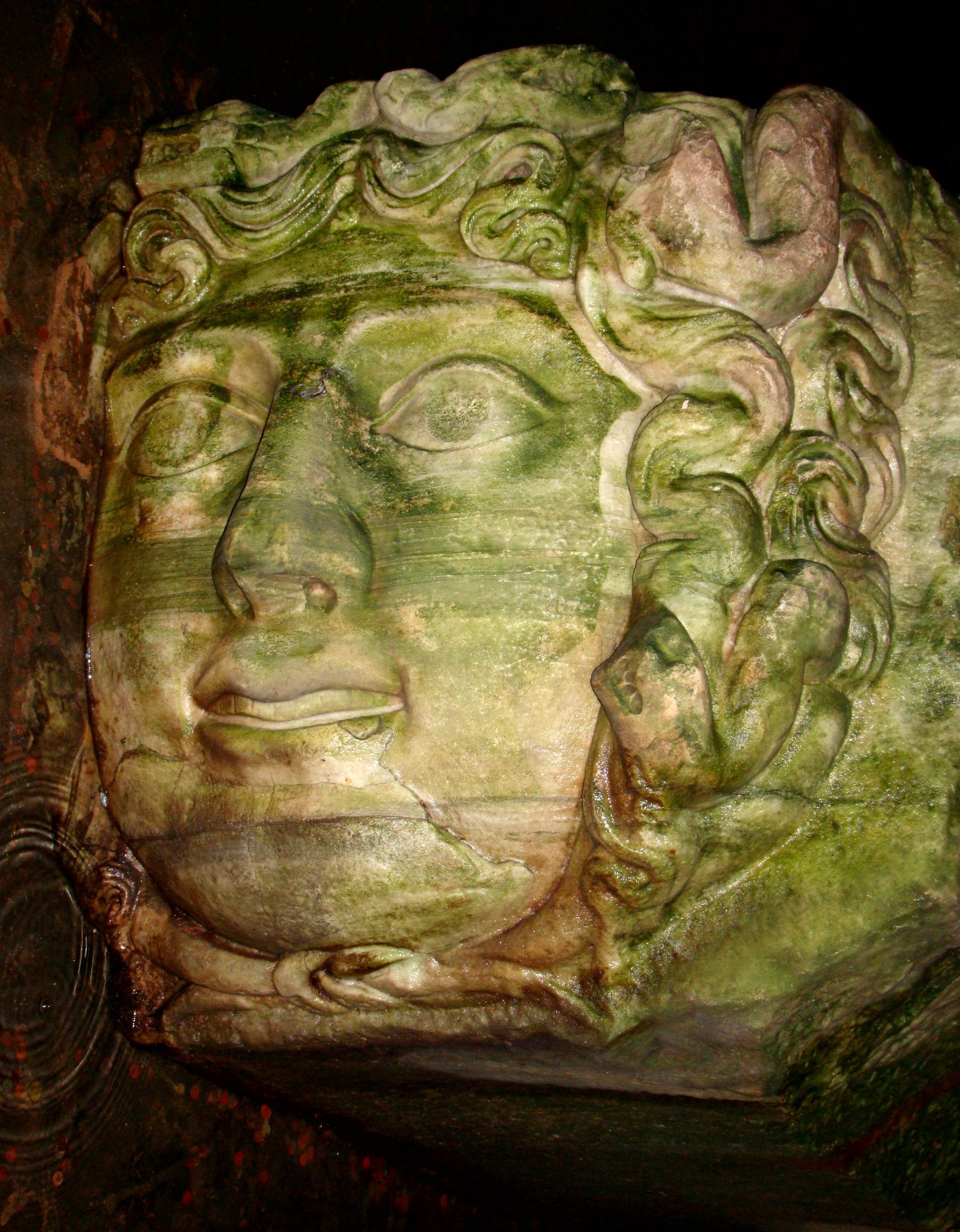 Basilica Cistern Medusa Rotated.JPG