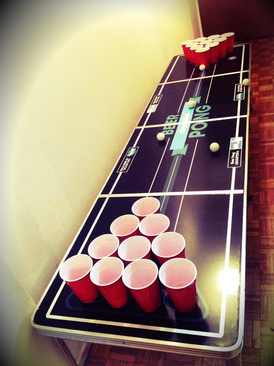 Picture of a game: Beer Pong