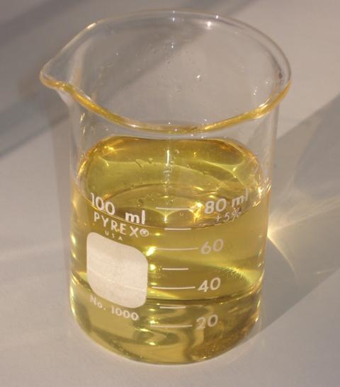 Probeta biodiesel