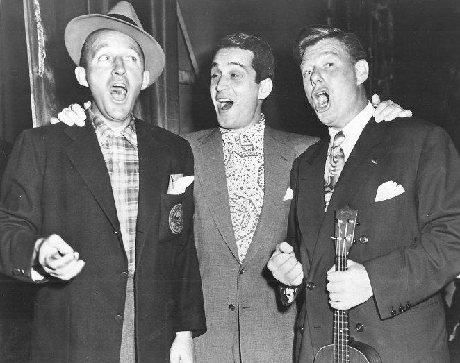 Al Jolson And The Andrews Sisters Andrews Sisters The Old Piano Roll Blues / Way Down Yonder In New Orleans