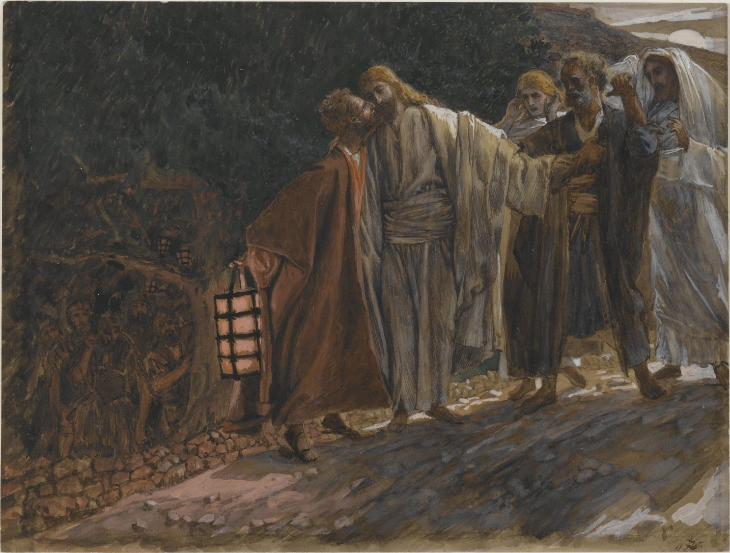 File:Brooklyn Museum - The Kiss of Judas (Le baiser de Judas) - James Tissot.jpg