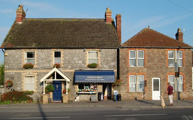 File:Butchers shop, Shipham, Somerset - geograph.org.uk - 1181265