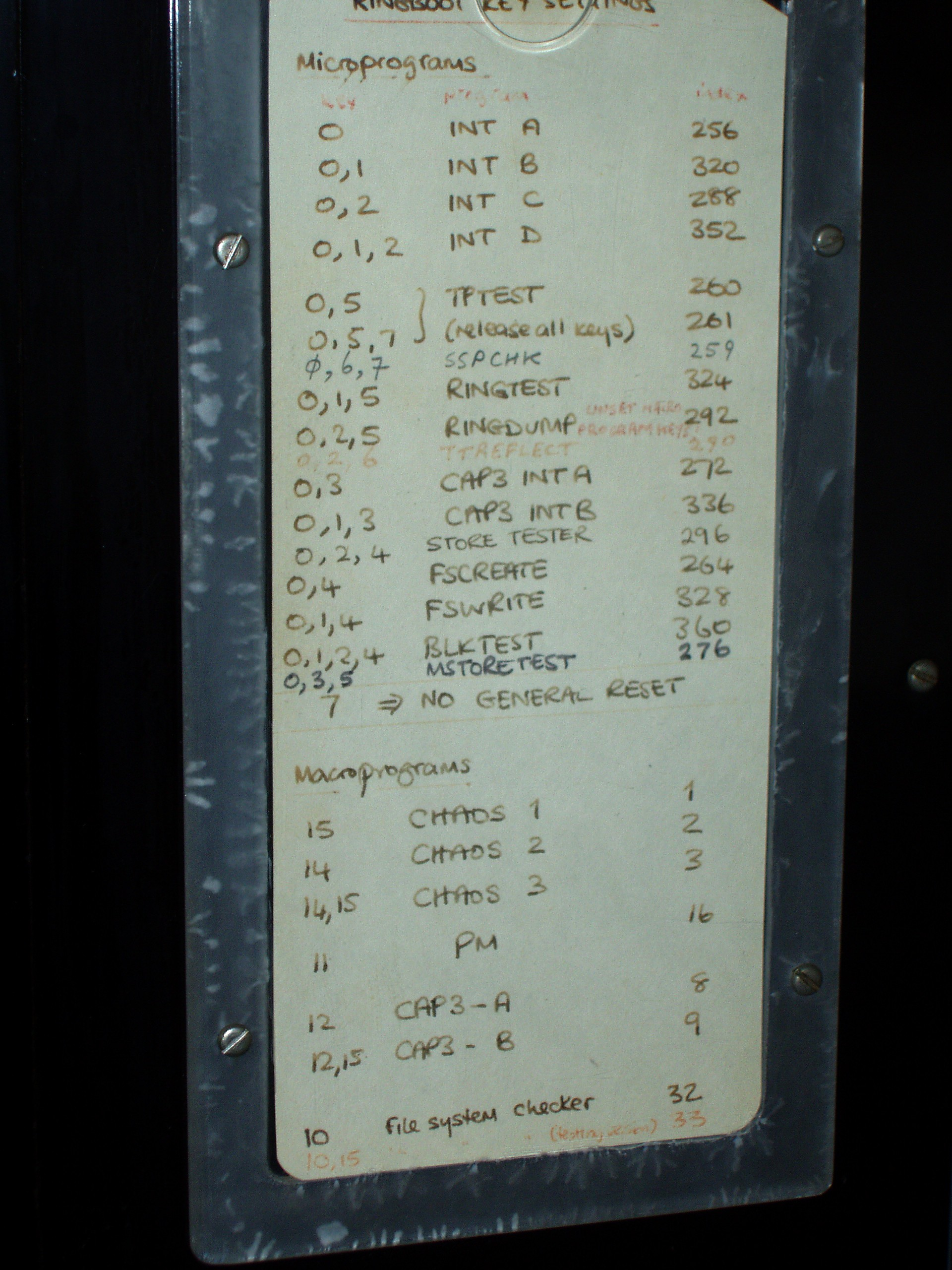history of computer notes