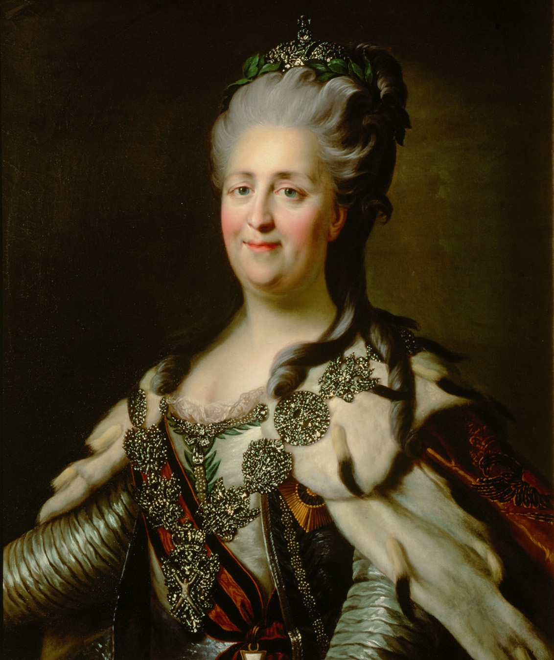 Catherine_II_by_J.B.Lampi_%281780s%2C_Kunsthistorisches_Museum%29 In Defense Of Stanisław, the Last King Of Poland