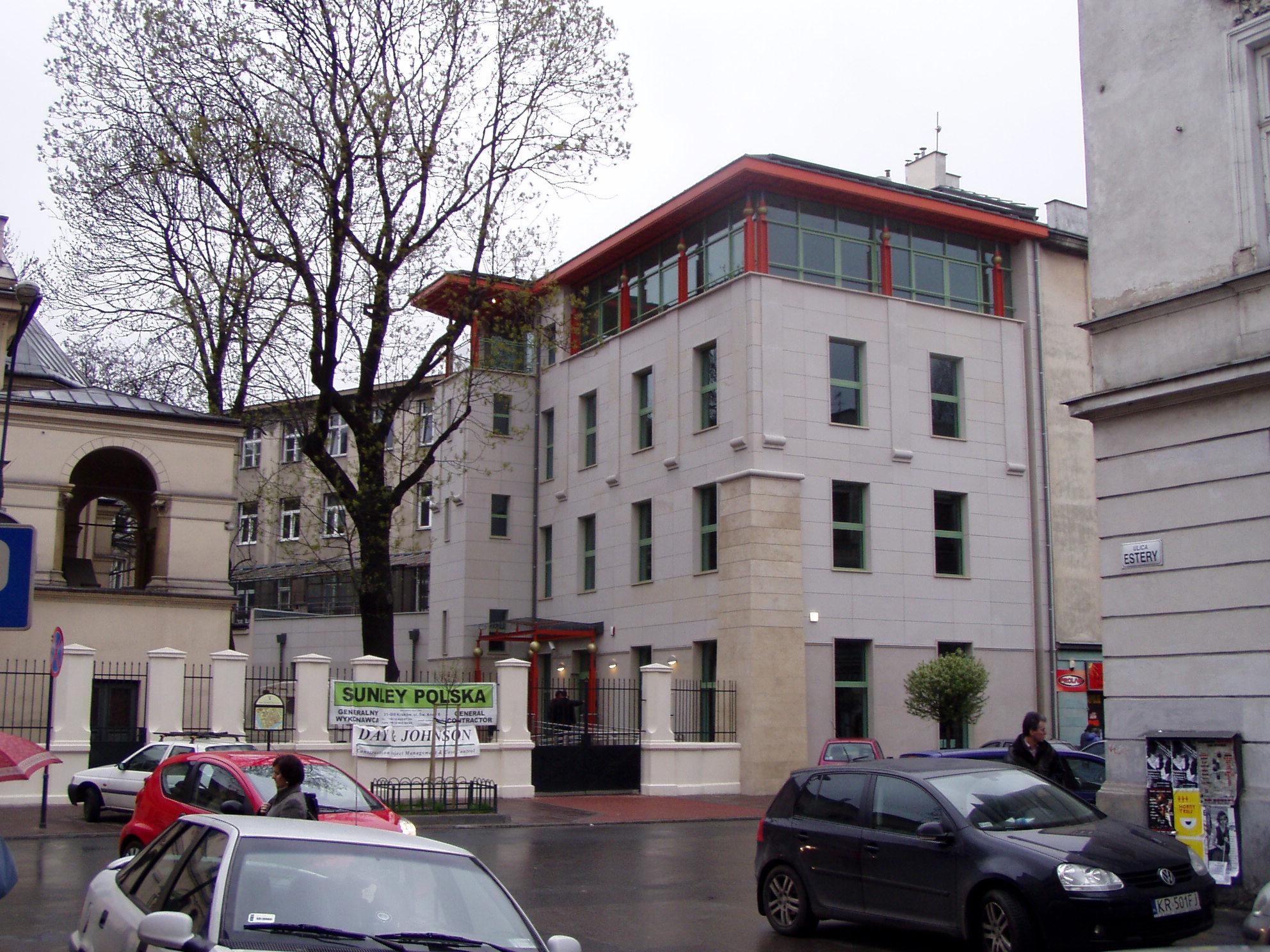 Centrum Społeczności żydowskiej W Krakowie Wikipedia