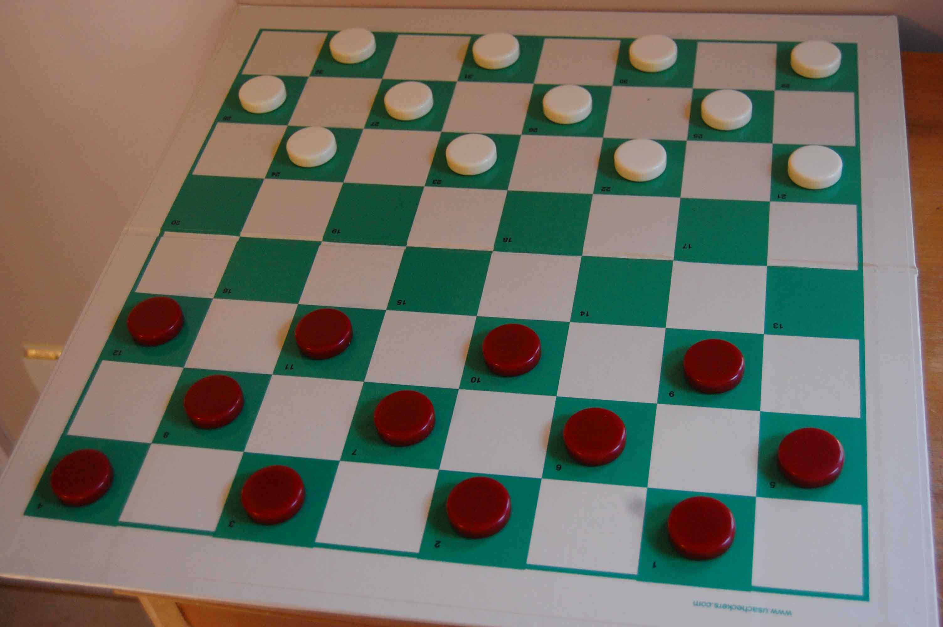 Picture of a game: Draughts