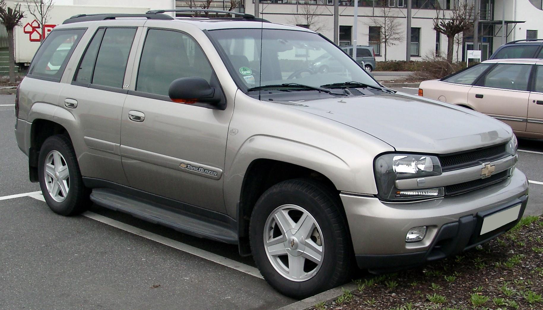 Chevrolet Trailblazer Wikipedia Den Frie Encyklop 230 Di
