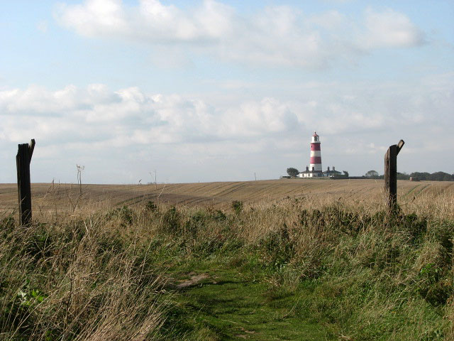 Clifftop path to Happisburgh - geograph.org.uk - 978635
