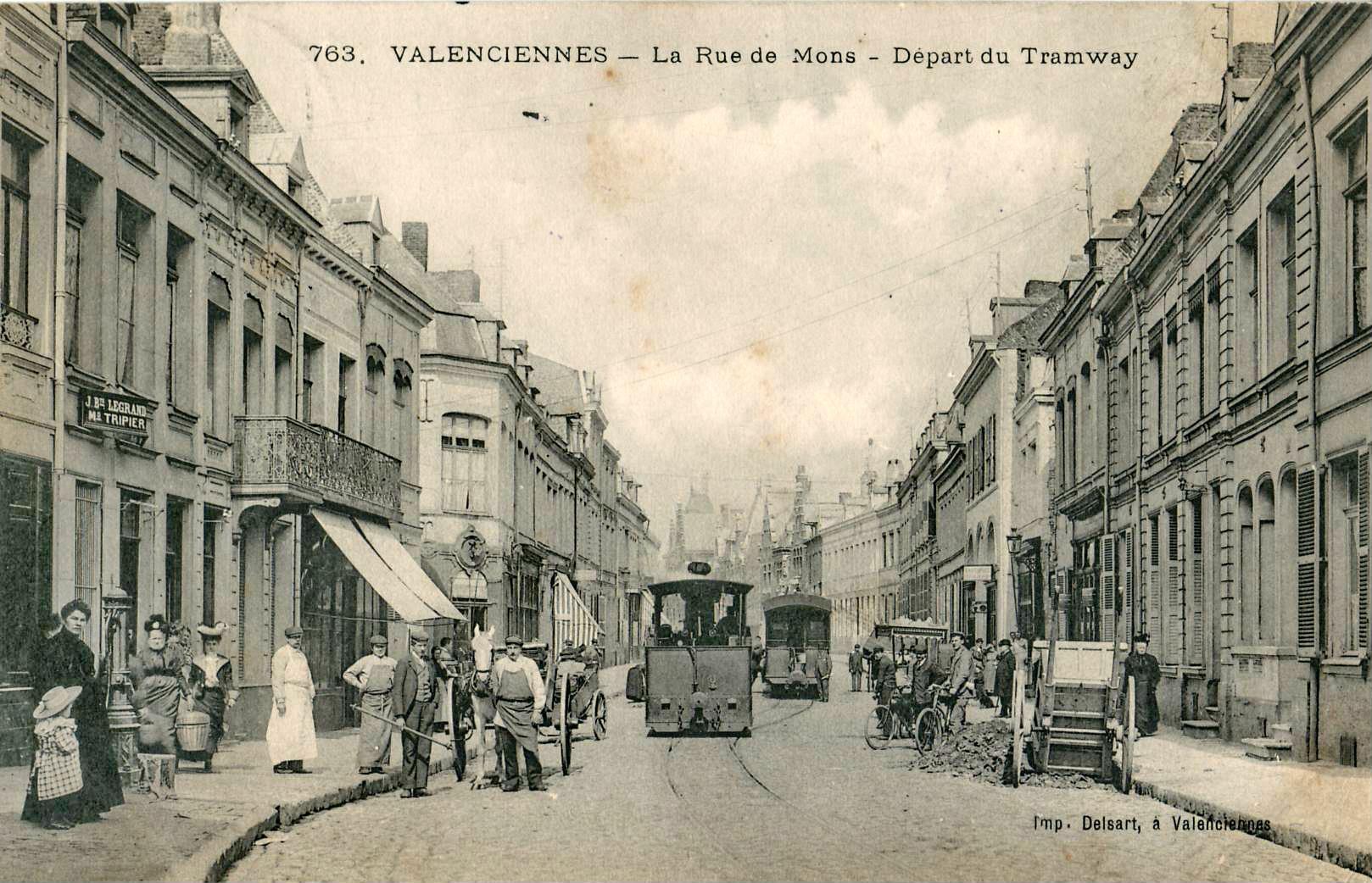 File delsart 763 valenciennes la rue de mons d part for Chambre de commerce marseille rue sainte victoire