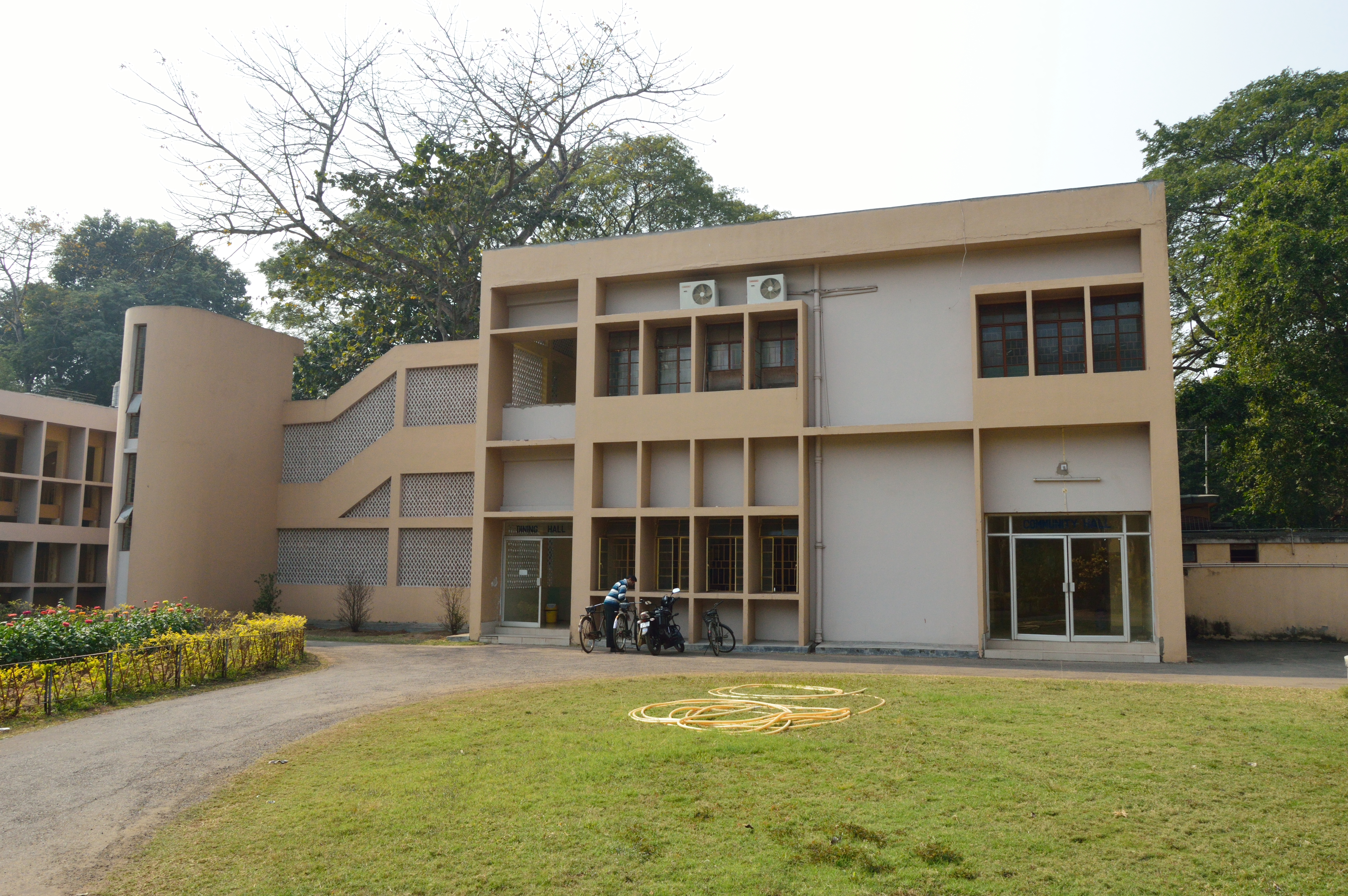 Indian institute of technology kharagpur - File Dining And Conference Halls Visveswaraya Guest House Indian Institute Of Technology