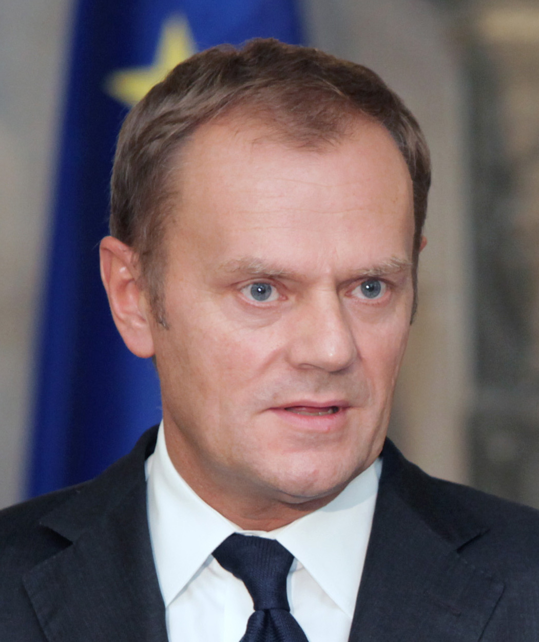 Depiction of Donald Tusk