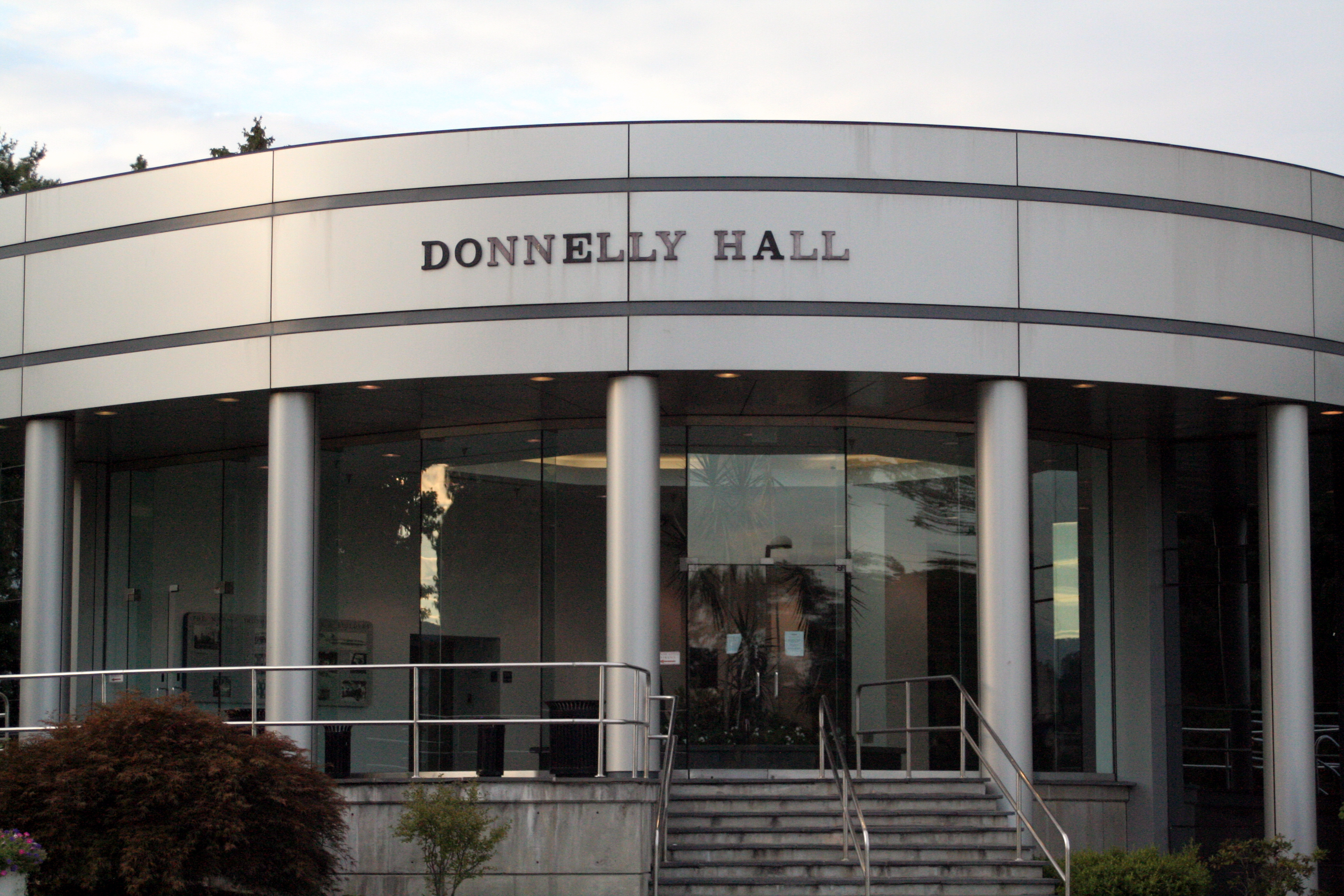 front view of donnelly hall