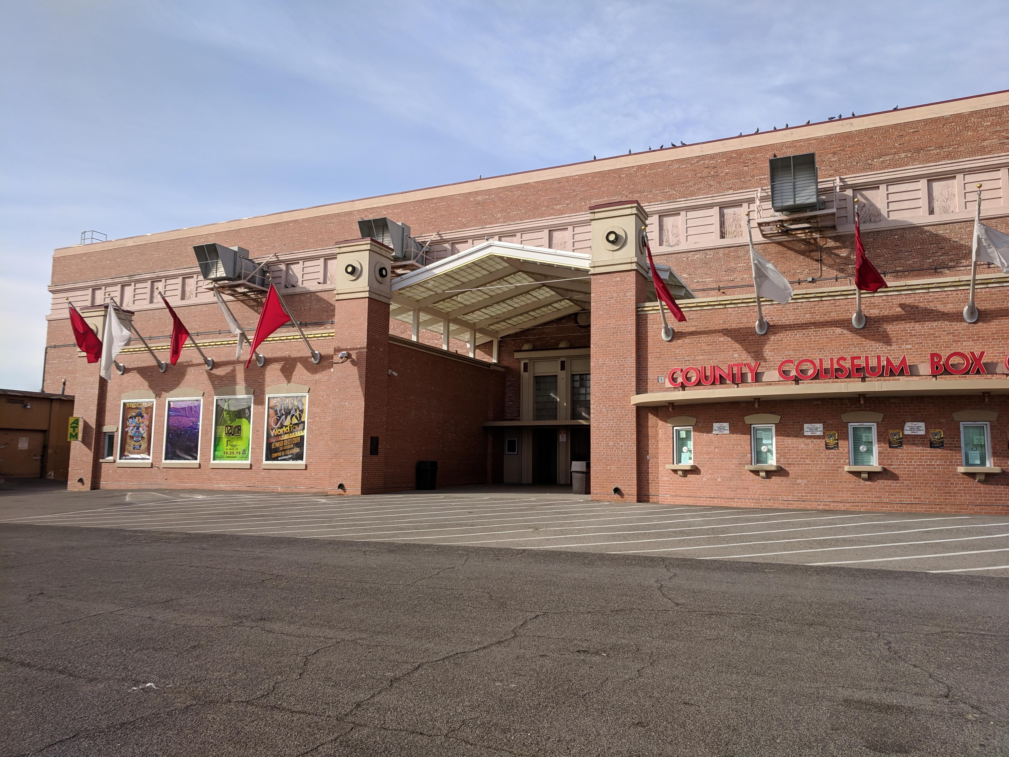El Paso County Coliseum Wikipedia