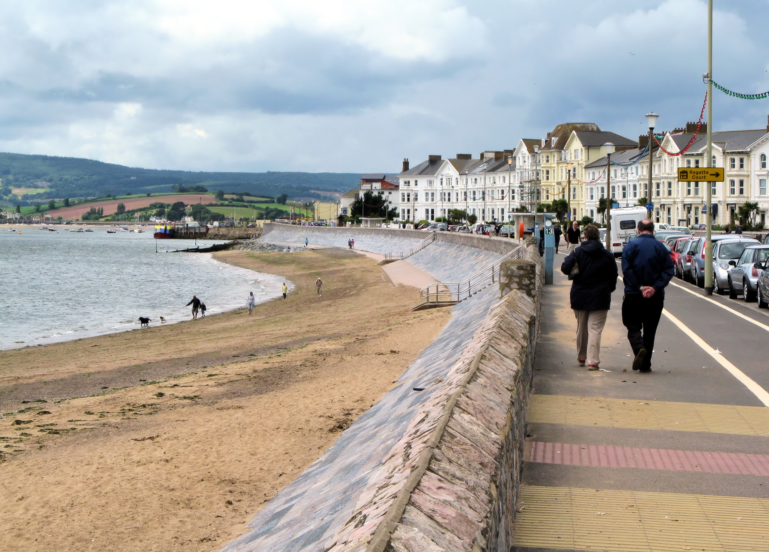 File Exmouth Seafront In South Devon Wikipedia