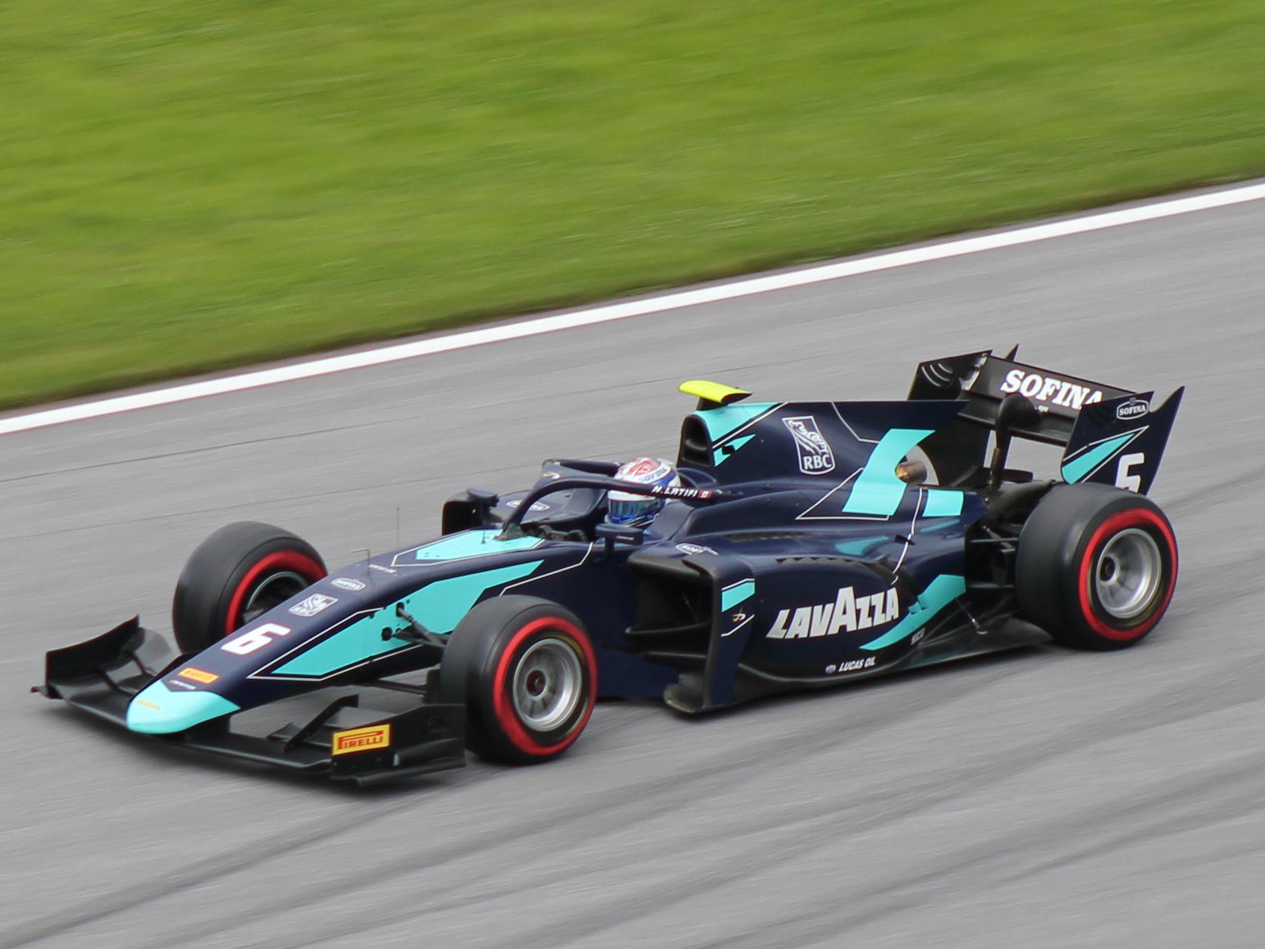 Drie seizoenen was Nicholas Latifi nodig om door te stromen naar de Formule 1.