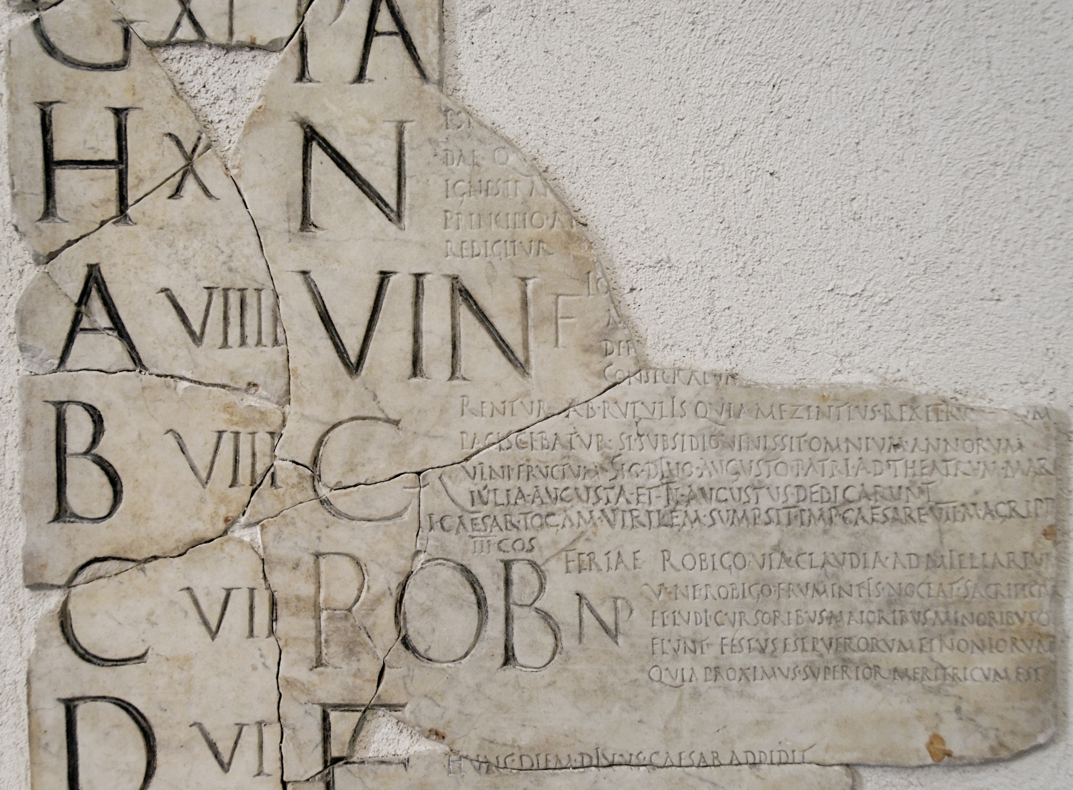 Fasti Praenestini Massimo Julian Calendar Wikipedia