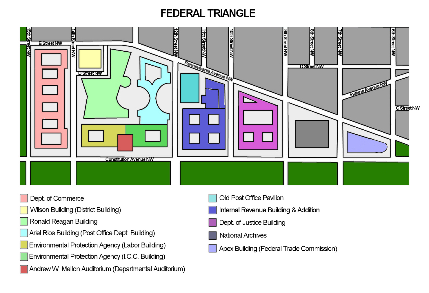 Federal Triangle Wikipedia Diagram Of A Network Architecture In Multistory Building