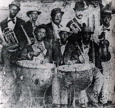 Orquesta Típica Flor de Cuba, alrededor de 1850.