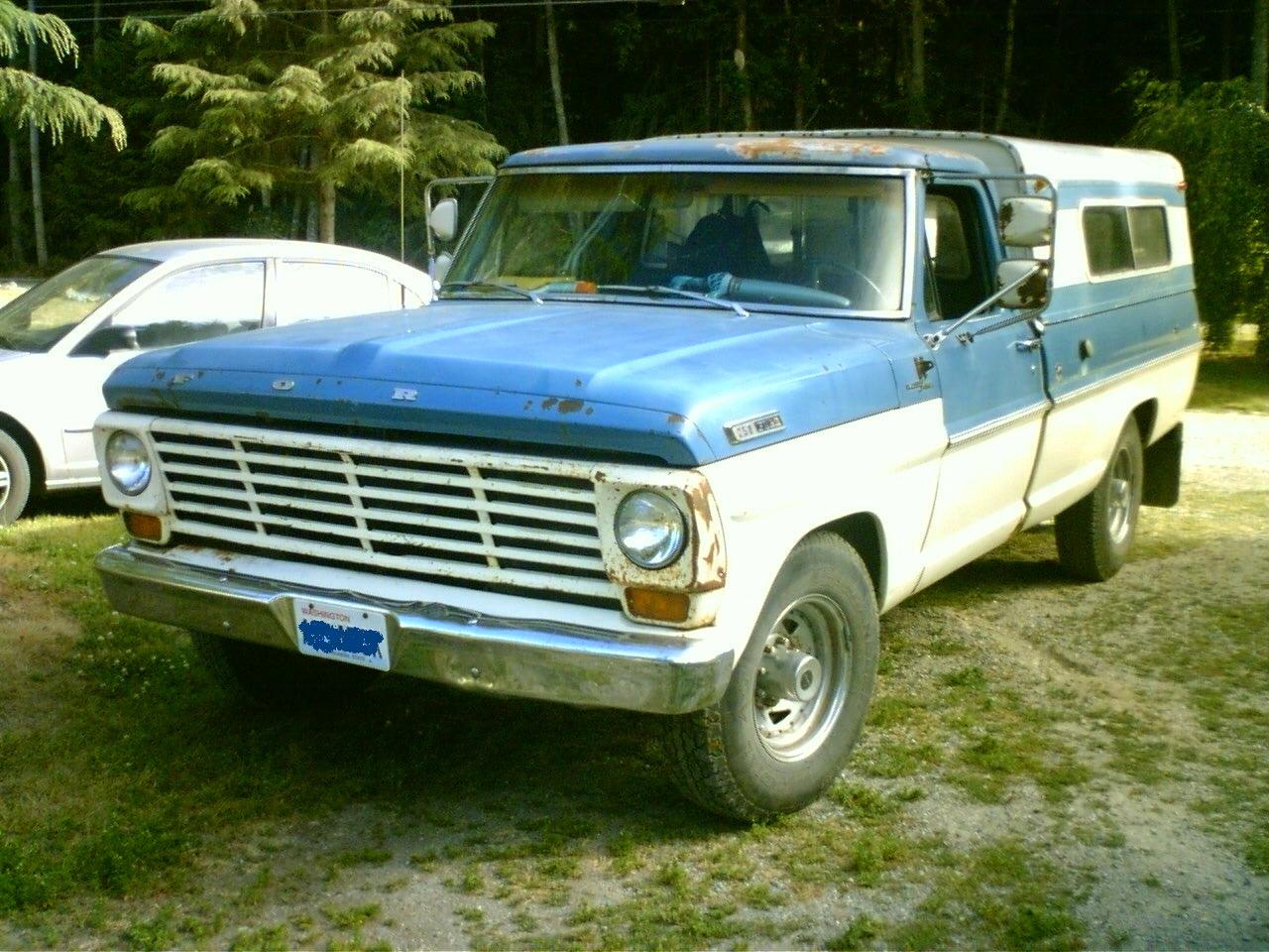 Fileford F Series 1968 Wikimedia Commons Ford
