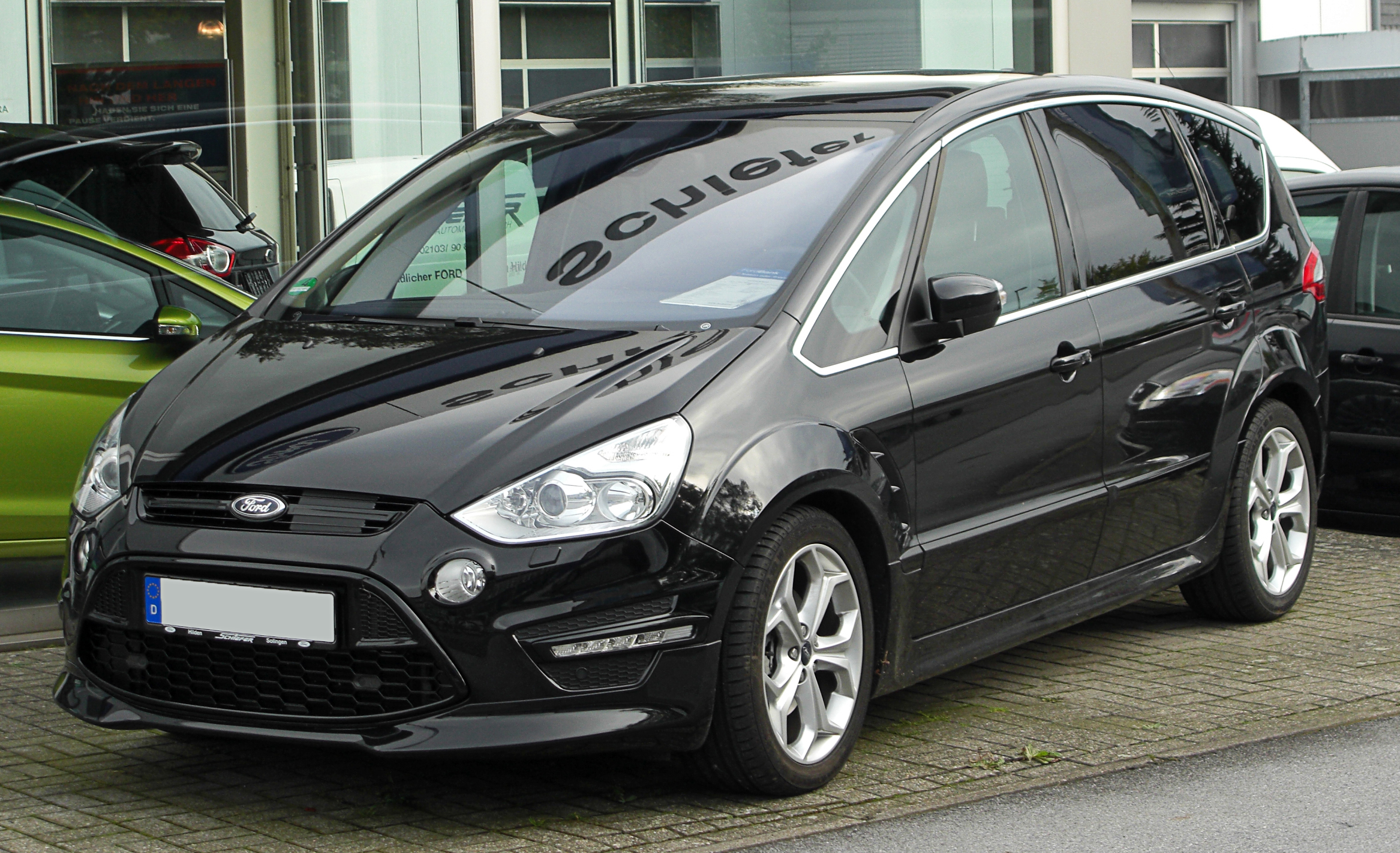 Titanium s frontspoilerlippe tuning veredelung und for Ford s max photos interieur