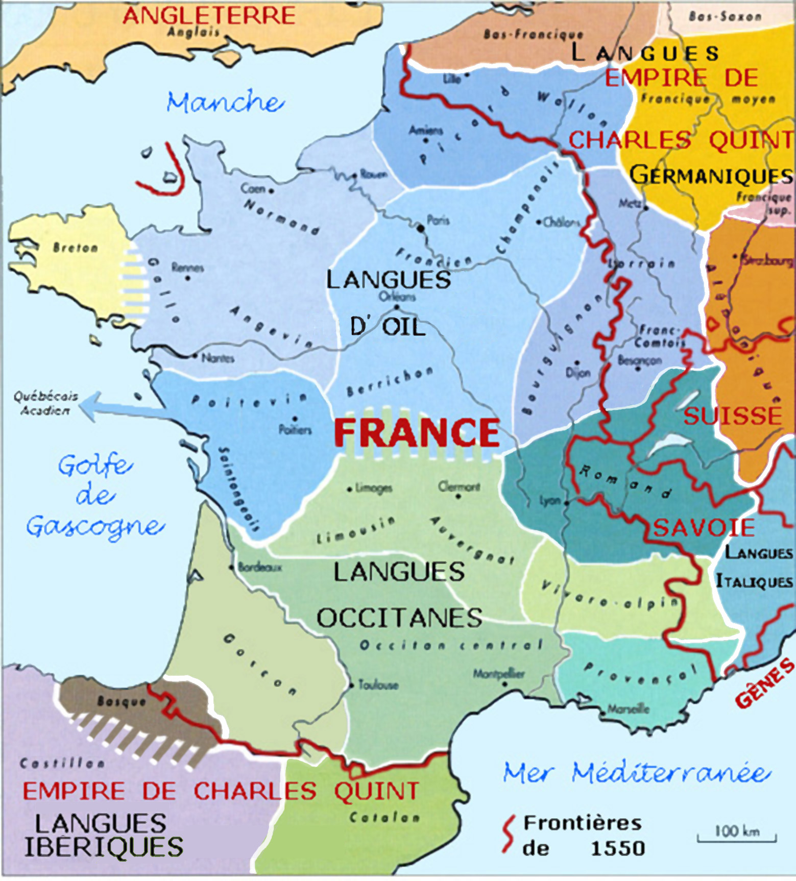 France Map Of.File France Language Map 1550 Jpg Wikimedia Commons