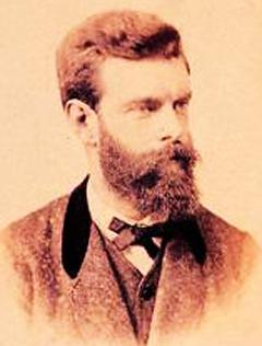 Franz Schrader ≈ 1875