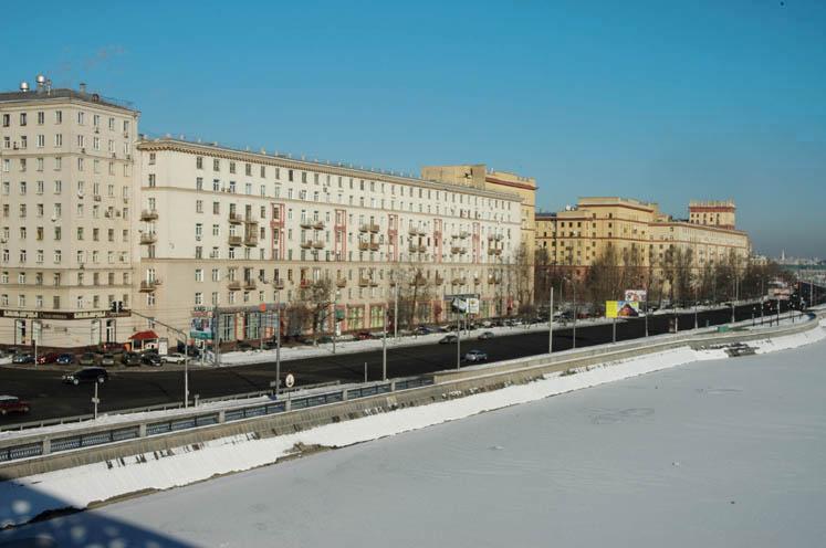 Frunzenskaya quay