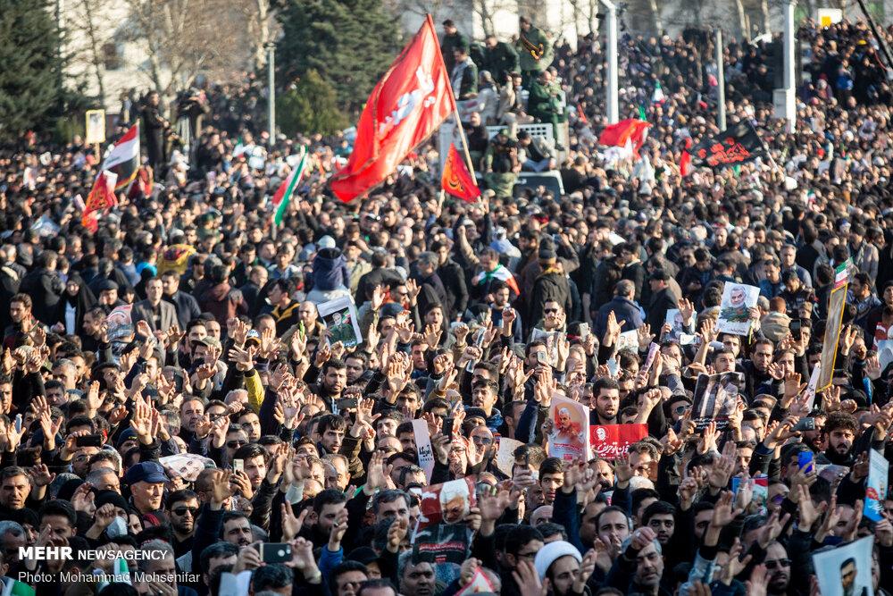 Funeral of Qasem Soleimani, Tehran, Mehr 05.jpg
