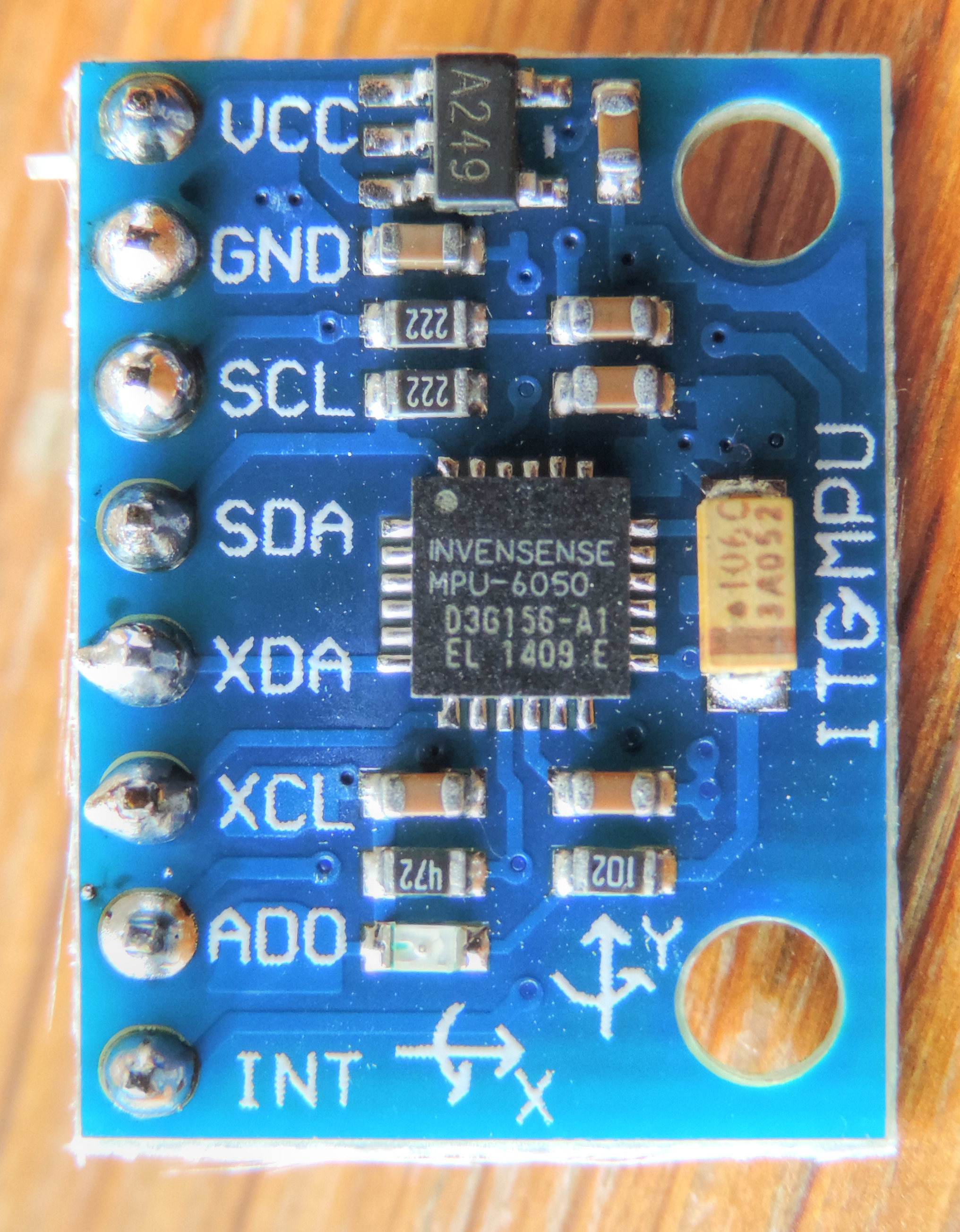 File:GY-521 MPU-6050 Module 3 Axis Gyroscope + Accelerometer