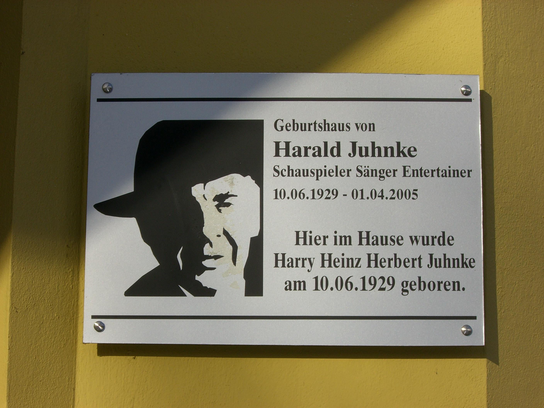 Dateigedenktafel Geburtshaus Harald Juhnkejpg Wikipedia