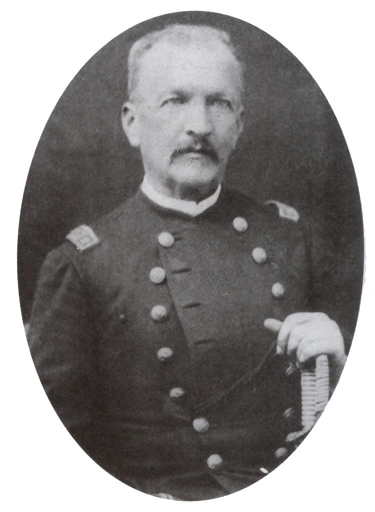 Depiction of Manuel Baquedano