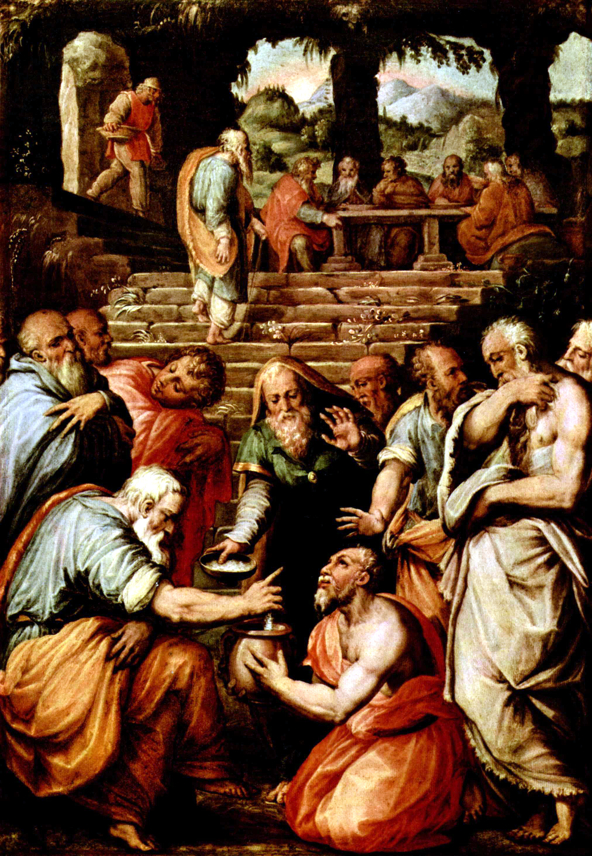 File Giorgio Vasari 001 further Wel e To London Presentation further Leonardo Da Vinci Powerpoint Presentation likewise Stock Photo Villa Del Balbianello Near The  une Of Lenno Lake  o Italy 23613649 as well Agostino Carracci 1063324 W. on famous italian paintings