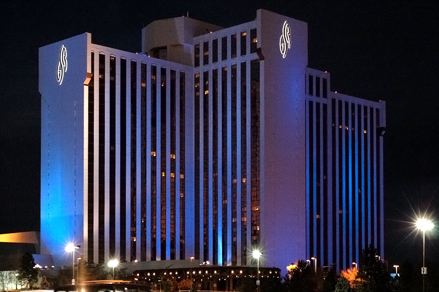Property Location When you stay at Grand Sierra Resort and Casino in Reno, you'll be on a river, within a minute drive of National Automobile Museum and Nevada Museum of Art. This 4-star resort is mi (4 km) from National Bowling Stadium and mi ( /5.