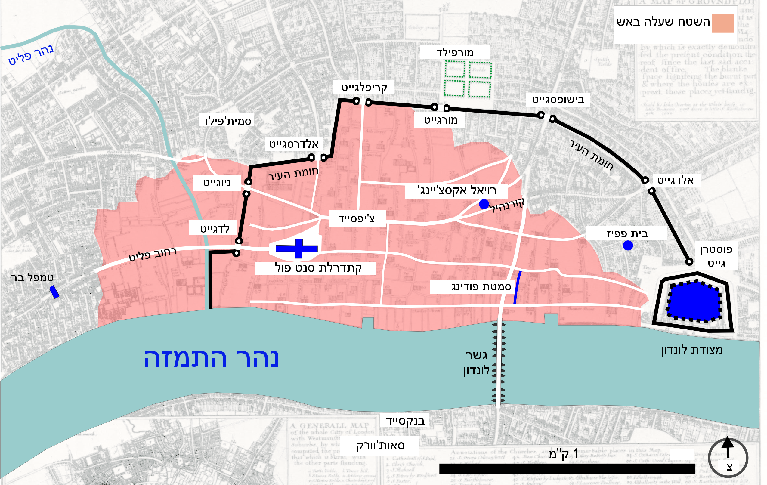 Great Fire Of London Map.File Great Fire Of London Map He Png Wikimedia Commons