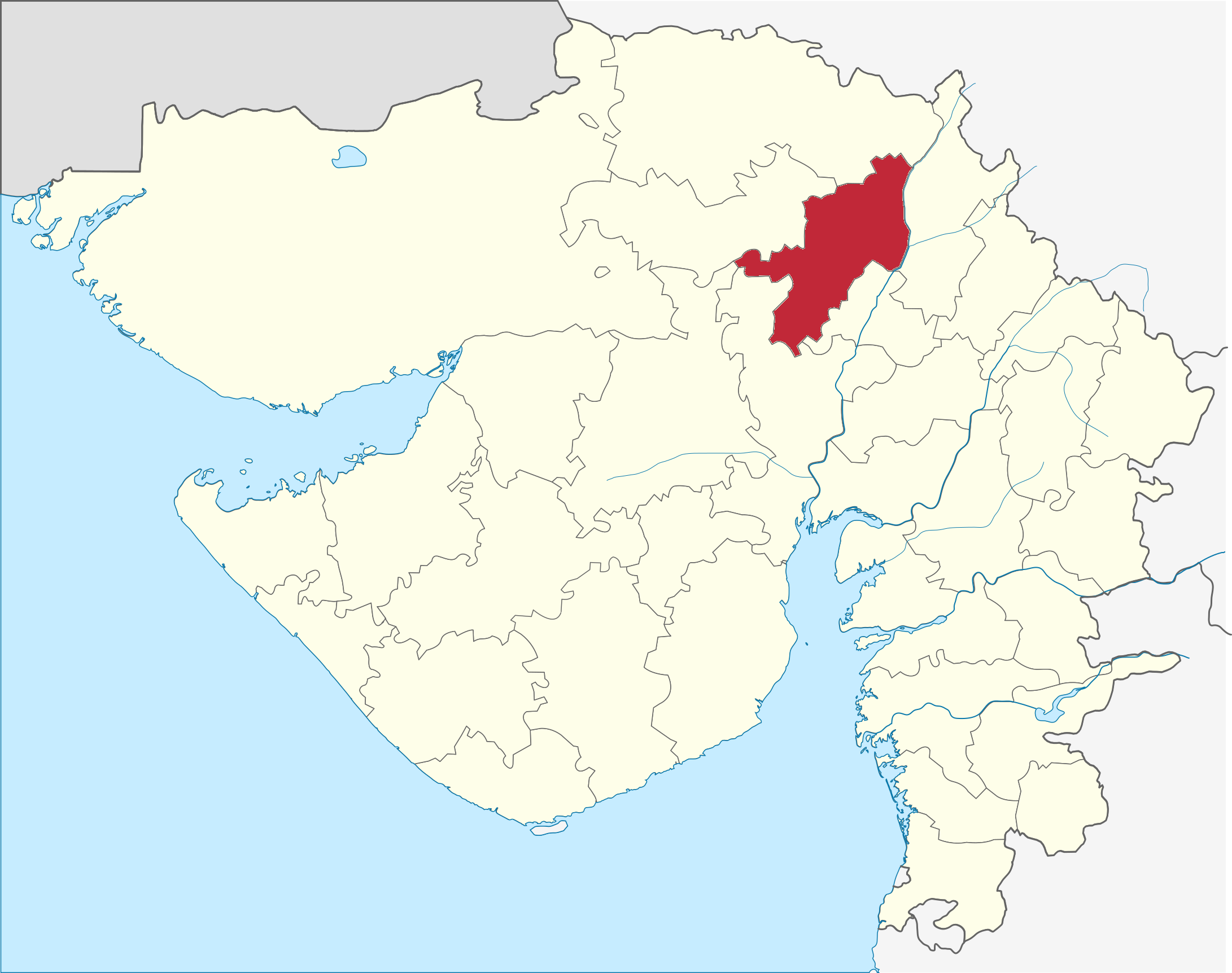 Mehsana district - Wikipedia
