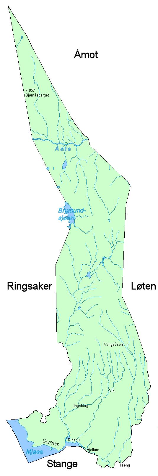 kart hamar kommune File:Hamar kommunekart.png   Wikimedia Commons