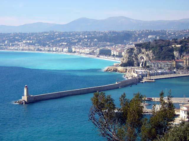 Vue de la ville et du port