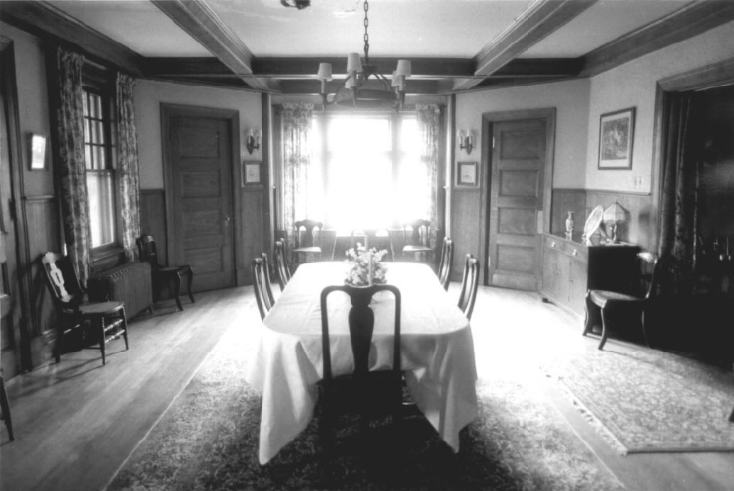 Size of dining room