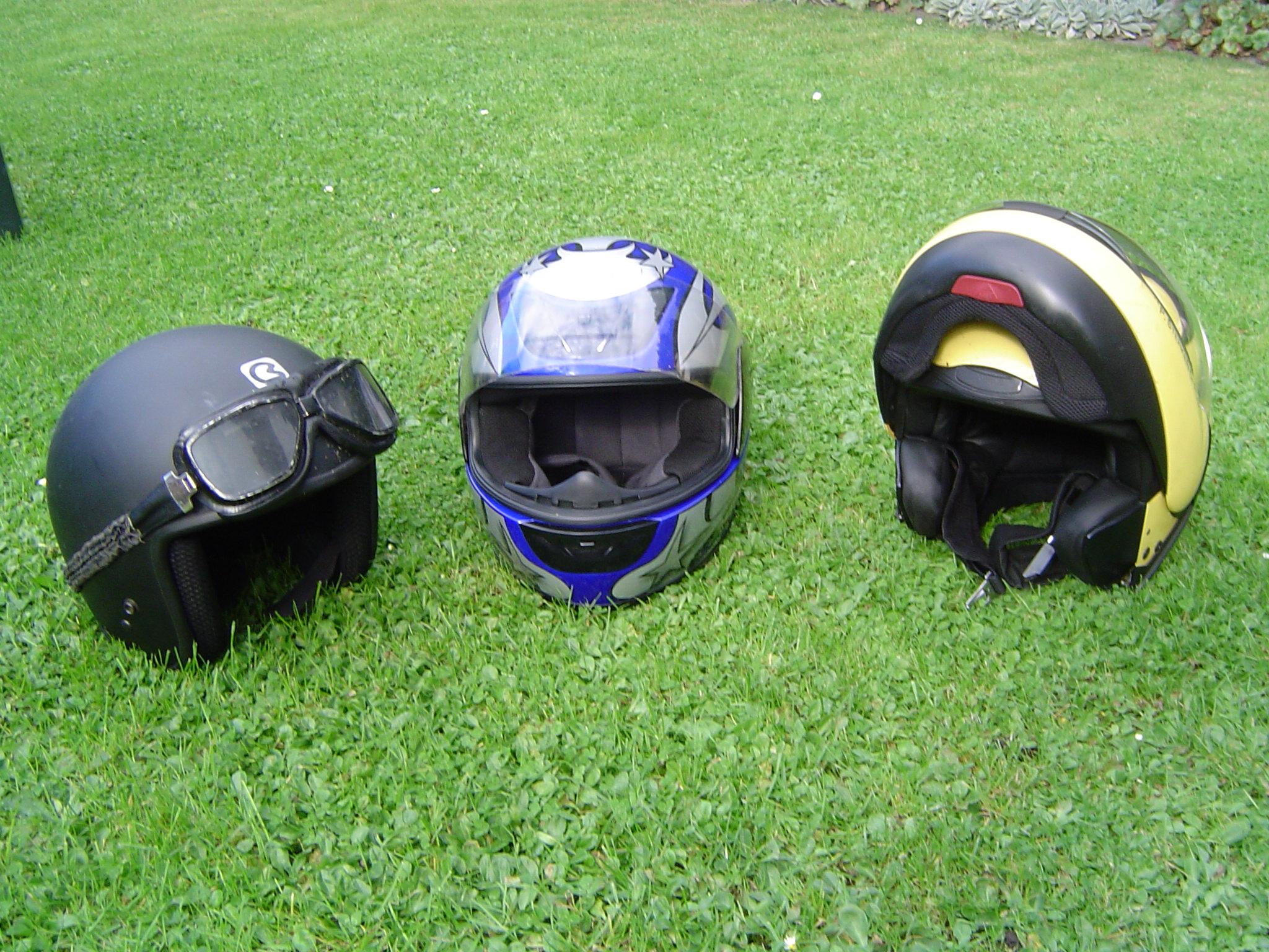 Motorrad Helmpflicht