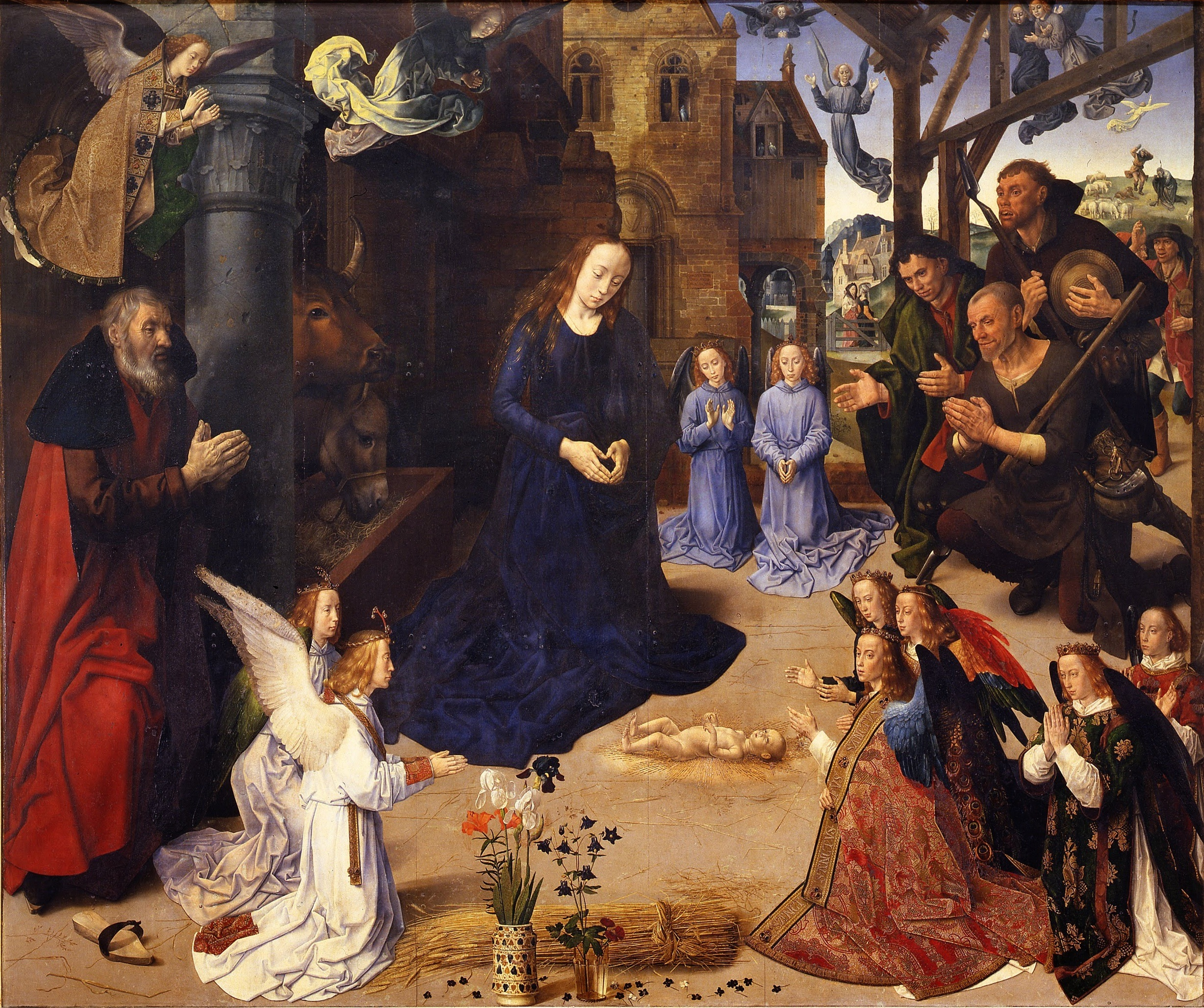 Hugo Van Der Goes Portinari Altarpiece